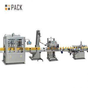 જામ પિસ્ટન ભરવાનું મશીન, આપોઆપ ગરમ ચટણી ભરવાની મશીન, મરચાંની ચટણી ઉત્પાદન લાઇન