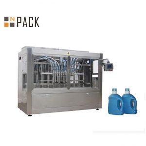 આપોઆપ લિક્વિડ 10 નોઝલ સરસવ તેલ બોટલ પેકિંગ મશીન